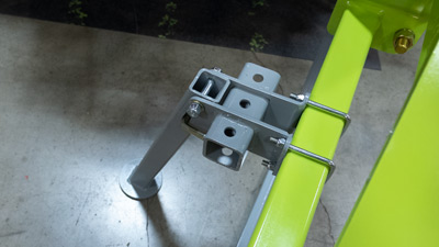Support Leg and Weight Bracket