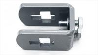 center mount- rectangular toolbar to flat shank