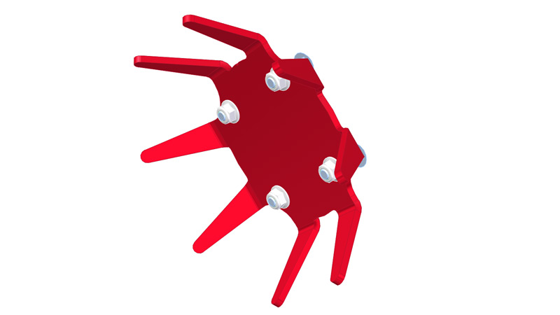 Finger Weeder Drive Wheel for Tilmor