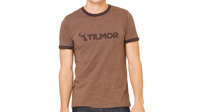 Tilmor T-shirt - Dark Brown Ringer