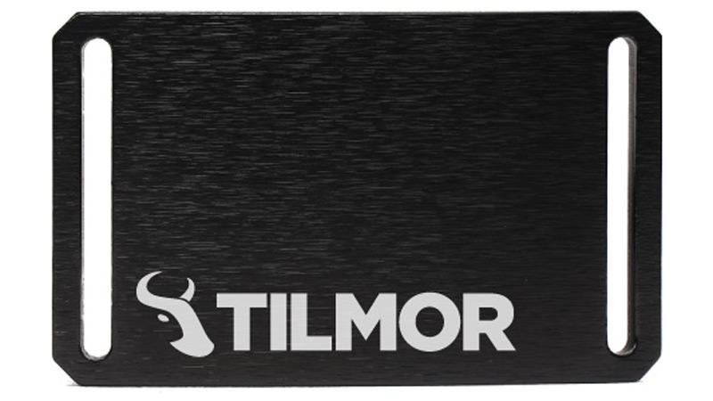 Belt Buckle - Black - Tilmor Logo