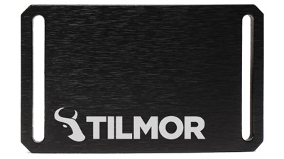 Belt Buckle - Black - Tilmor Logo