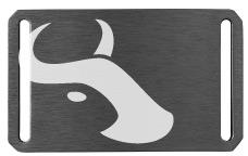 Belt Buckle - Gunmetal - Tilmor Ox