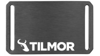 Belt Buckle - Gunmetal - Tilmor Logo