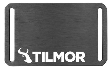 Belt Buckle - Gunmetal - Tilmor Logo