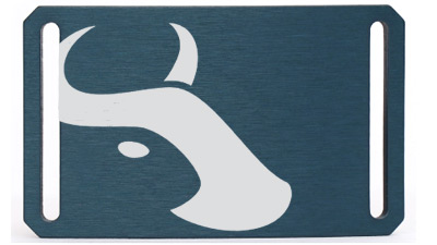 Belt Buckle - Blue- Tilmor Ox