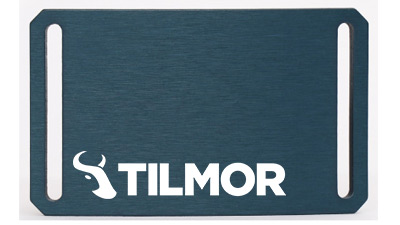 Belt Buckle - Blue- Tilmor Logo