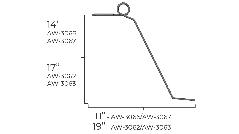 Torsion Wire Dimensions