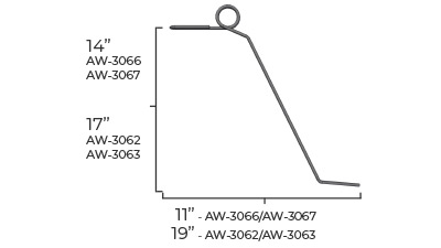Torsion Wire Dimensions