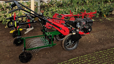 Power Ox with Tine Weeder