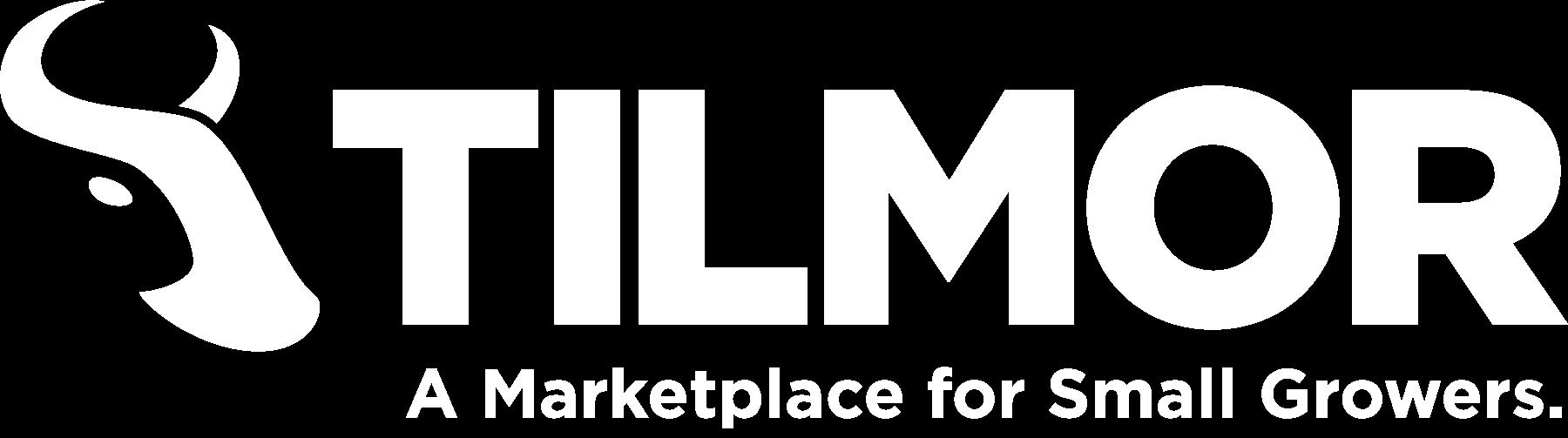 Tilmor Logo - White