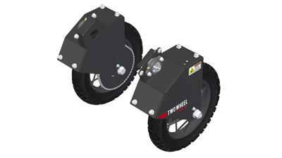 Skinny/Knobby Tire Mounts for Tilmor Power Ox