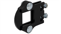 """Flat Shank Clamp for 1.5"""" Square Toolbar"""