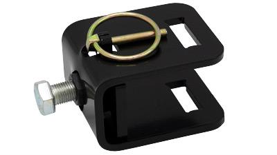 "Gauge Wheel Clamp for using Thiessen Gauge Wheels on 1.5"" Square Toolbar"