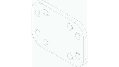 Plate, Round Shank Clamp