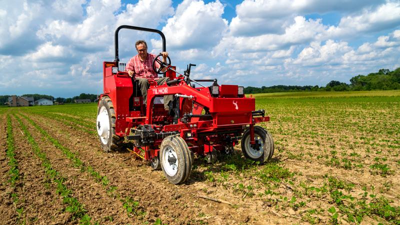 Tilmor Tractor with Finger Weeder