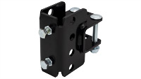 """2"""" to 1.5"""" square tube cross clamp"""