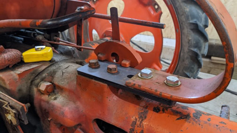Allis Chalmers G Seat Spacer - Thiessen