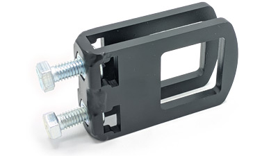 """Flat Bar to 1.5"""" Cross Clamp by Thiessen"""