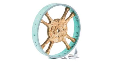 Single Dibble Wheel -Two Bad Cats