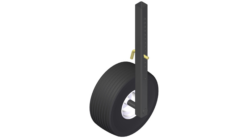 "Gauge Wheel for 2"" Clamp"